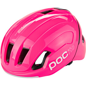 POC POCito Omne Spin Kask Dzieci, fluorescent pink